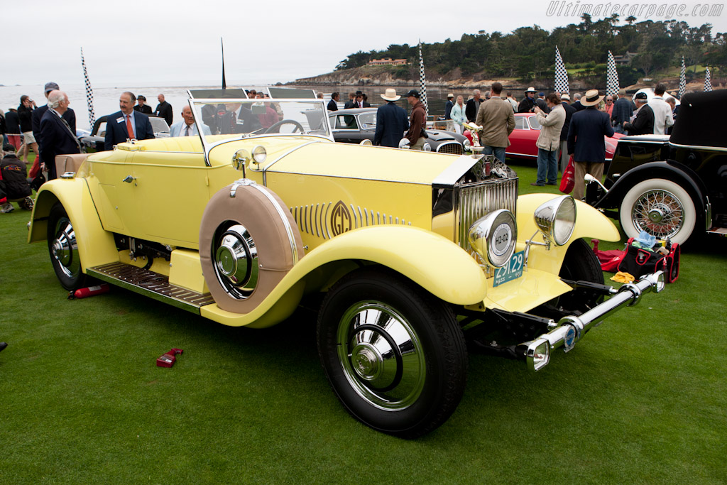 Rolls-Royce Phantom I Murphy Convertible Coupe    - 2011 Pebble Beach Concours d'Elegance