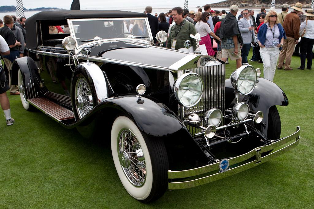 Rolls-Royce Phantom II Brewster Croydon    - 2011 Pebble Beach Concours d'Elegance