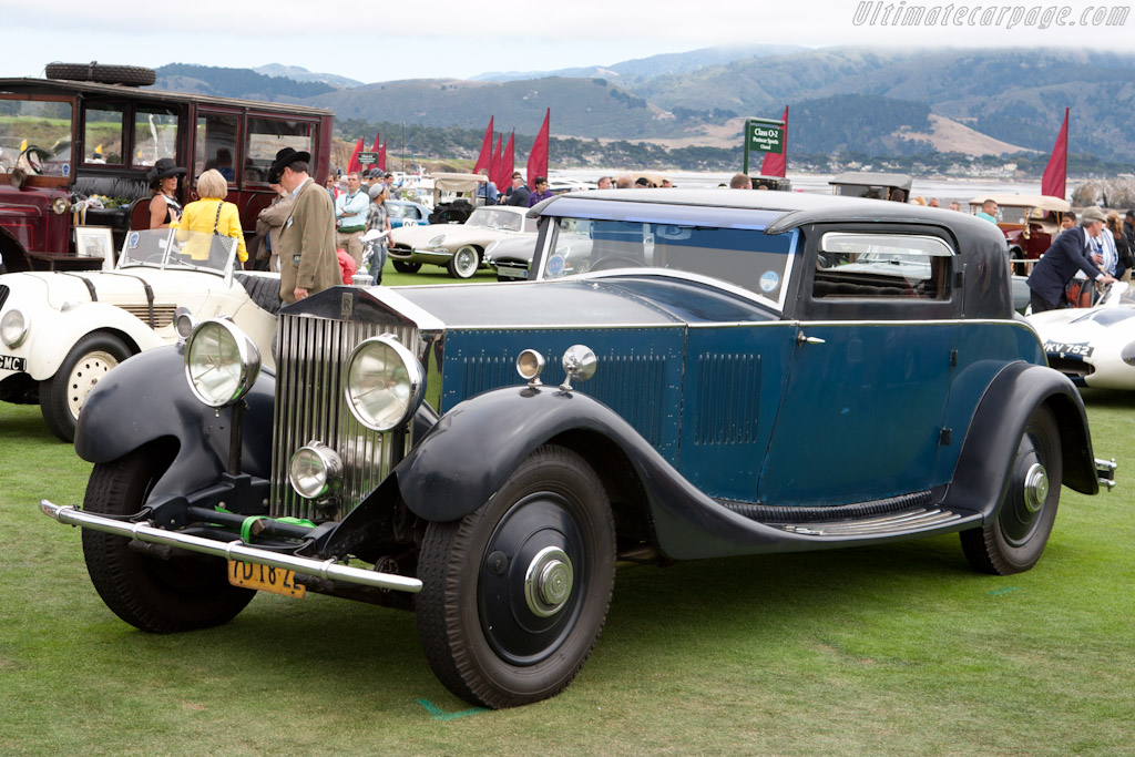 Rolls-Royce Phantom II Continental Windovers Coupe    - 2011 Pebble Beach Concours d'Elegance