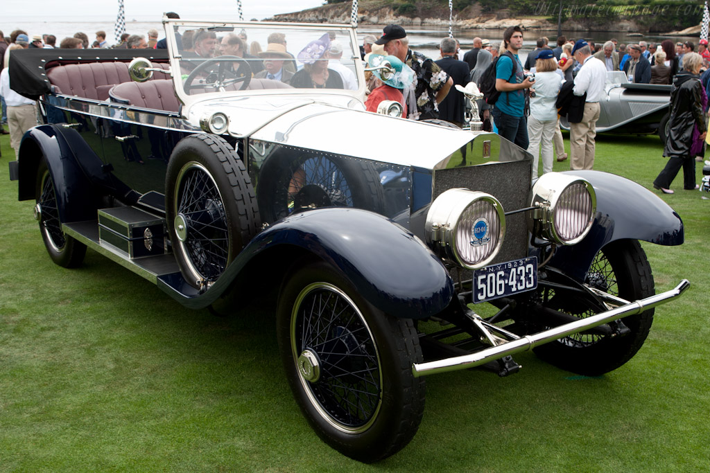 Rolls-Royce Silver Ghost Oxford Tourer    - 2011 Pebble Beach Concours d'Elegance
