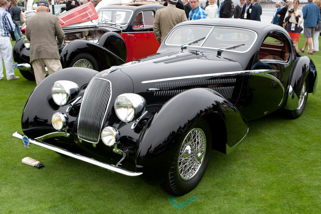 Talbot Lago T150 SS Figoni & Falaschi Teardrop - Chassis: 90034   - 2011 Pebble Beach Concours d'Elegance