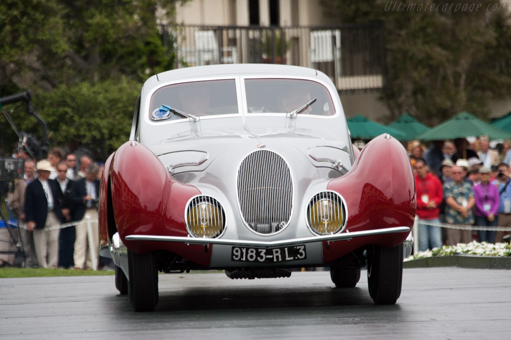 Talbot Lago T150 SS Figoni & Falaschi Teardrop - Chassis: 90103   - 2011 Pebble Beach Concours d'Elegance