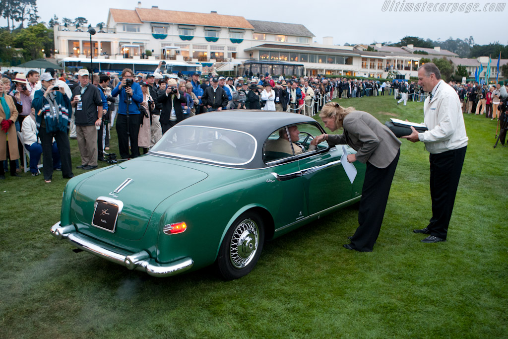 The first car enters the lawn   - 2011 Pebble Beach Concours d'Elegance