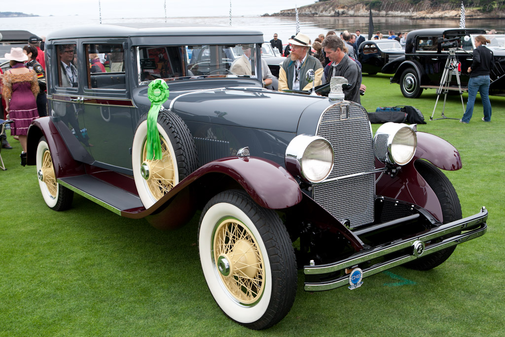 duPont Model G Merrimac Club Sedan    - 2011 Pebble Beach Concours d'Elegance