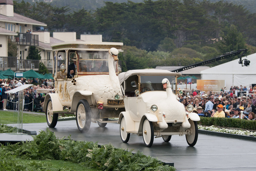 Brooke Swan Car and Cygnet    - 2012 Pebble Beach Concours d'Elegance
