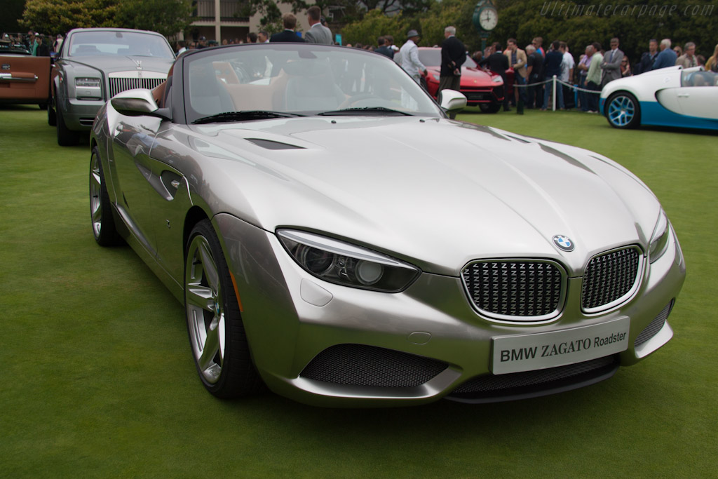 Bmw Zagato Roadster 2012 Pebble Beach Concours D Elegance