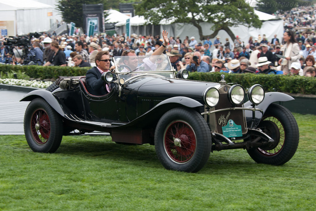 Alfa Romeo 6C 1750 SS Zagato Spider - Chassis: 0312867 - Entrant: Fica Frio Limited  - 2012 Pebble Beach Concours d'Elegance