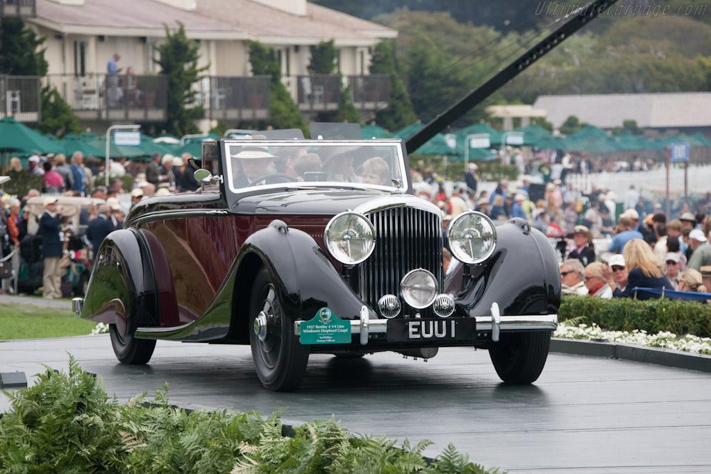 Bentley 4.25 Litre Windovers DHC    - 2012 Pebble Beach Concours d'Elegance