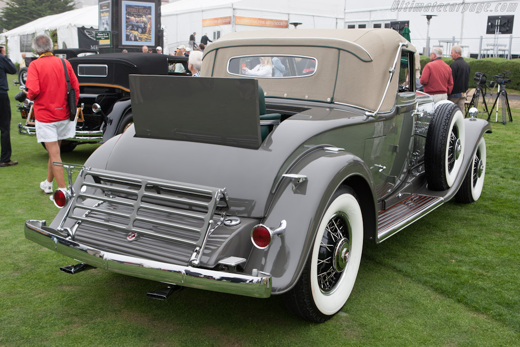 Cadillac 452 Fleetwood Convertible Coupe    - 2012 Pebble Beach Concours d'Elegance
