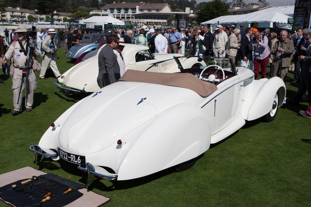 Delage D6-70 Letourneur & Marchand Cabriolet    - 2012 Pebble Beach Concours d'Elegance