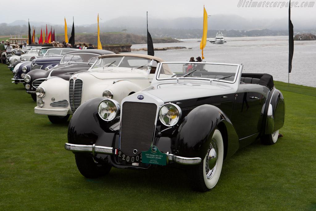 Delage D8 120 S Saoutchik Cabriolet    - 2012 Pebble Beach Concours d'Elegance