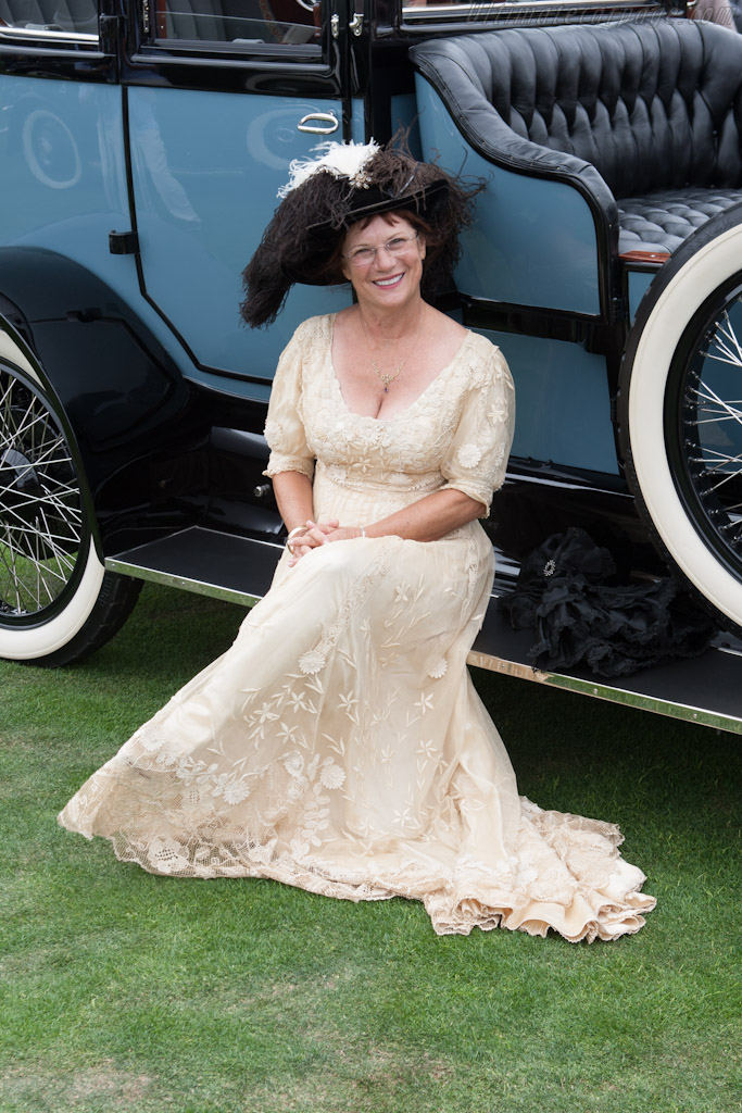 Dressed for the occasion    - 2012 Pebble Beach Concours d'Elegance
