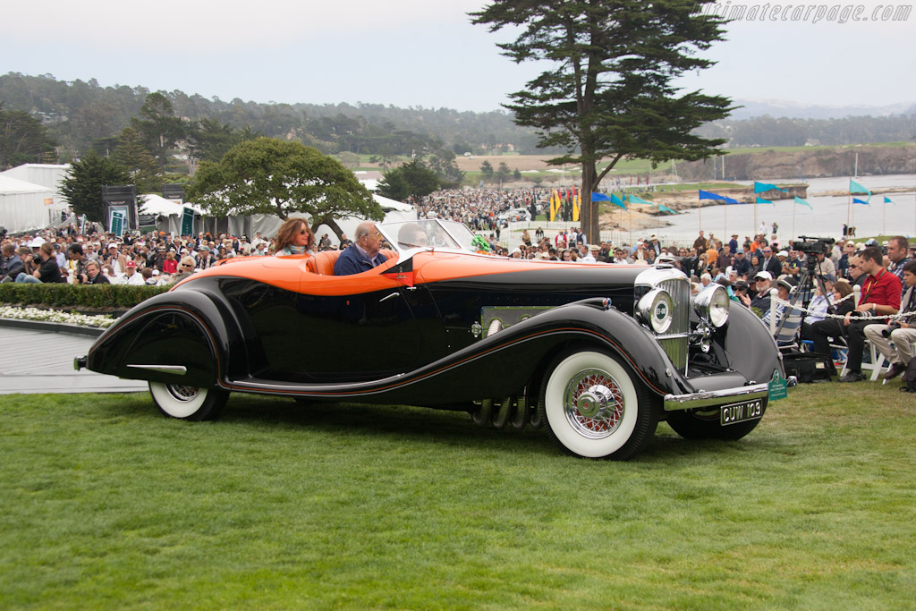 Duesenberg J Gurney Nutting Speedster - Chassis: 2614 J-585   - 2012 Pebble Beach Concours d'Elegance