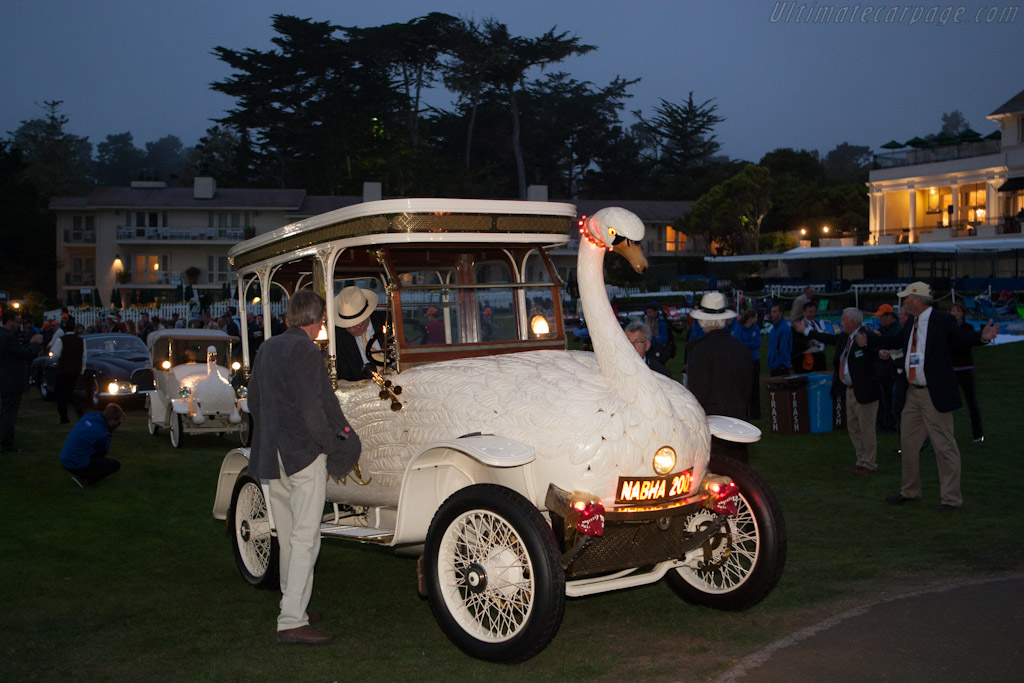 Entering the field    - 2012 Pebble Beach Concours d'Elegance