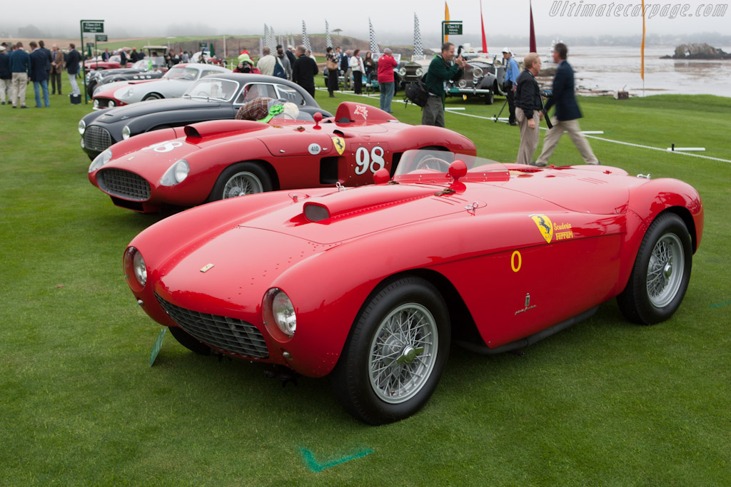 Ferrari 500 Mondial - Chassis: 0418MD   - 2012 Pebble Beach Concours d'Elegance