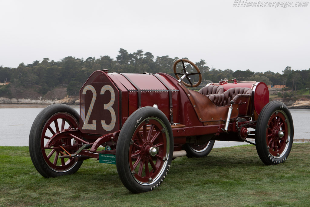 Fiat S61 Grand Prix  - Entrant: Indianapolis Motor Speedway Hall of Fame  - 2012 Pebble Beach Concours d'Elegance