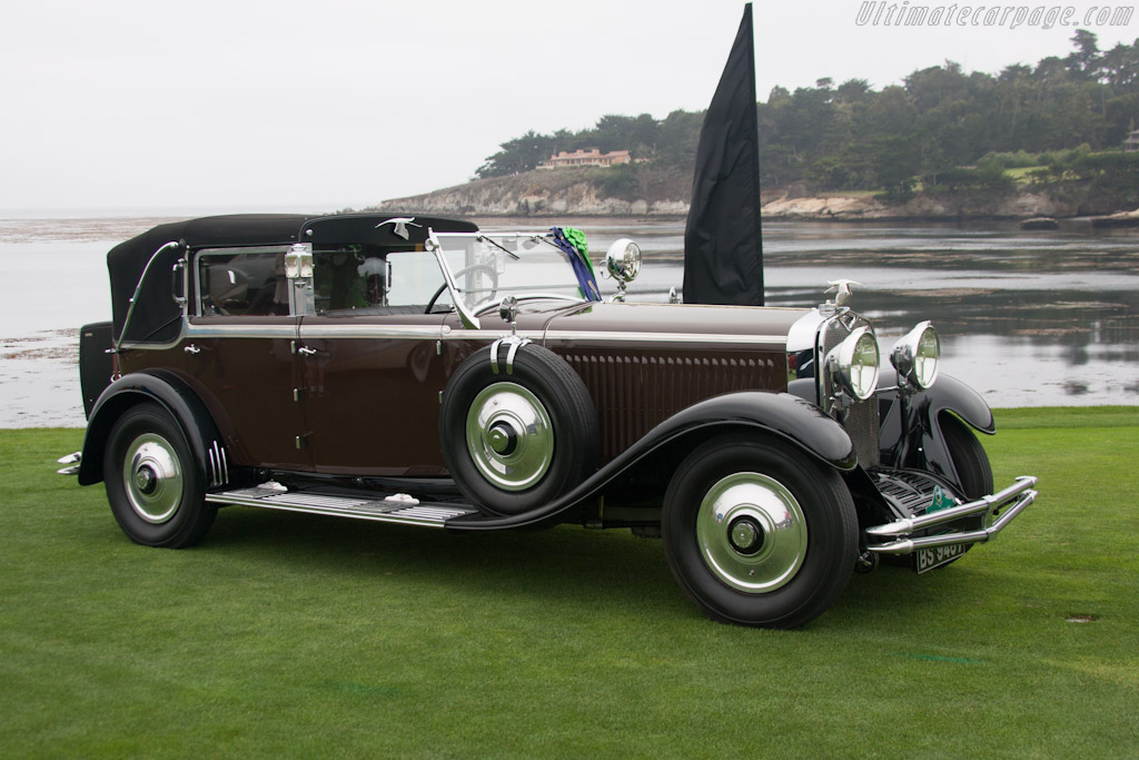 Hispano Suiza H6C Kellner Transformable    - 2012 Pebble Beach Concours d'Elegance