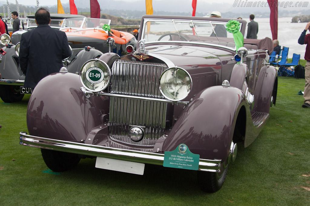 Hispano Suiza J12 Kellner Cabriolet    - 2012 Pebble Beach Concours d'Elegance