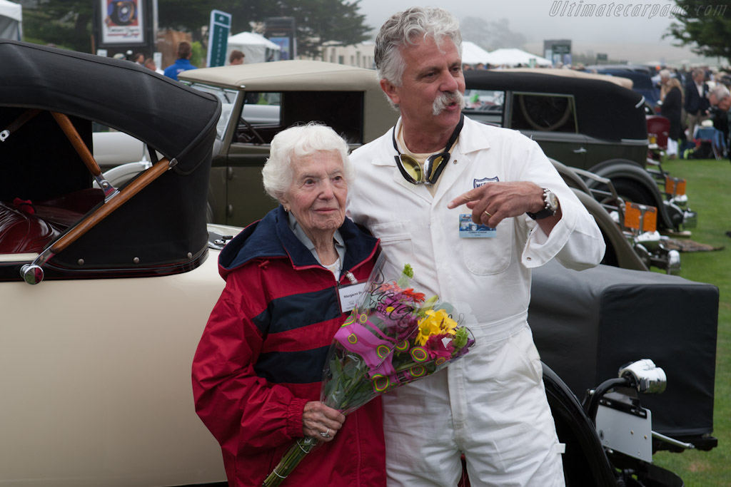 Margaret Dunning still driving at 102    - 2012 Pebble Beach Concours d'Elegance