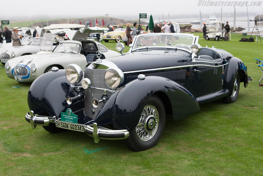 Mercedes-Benz 540K Spezial Roadster - Chassis: 408383   - 2012 Pebble Beach Concours d'Elegance