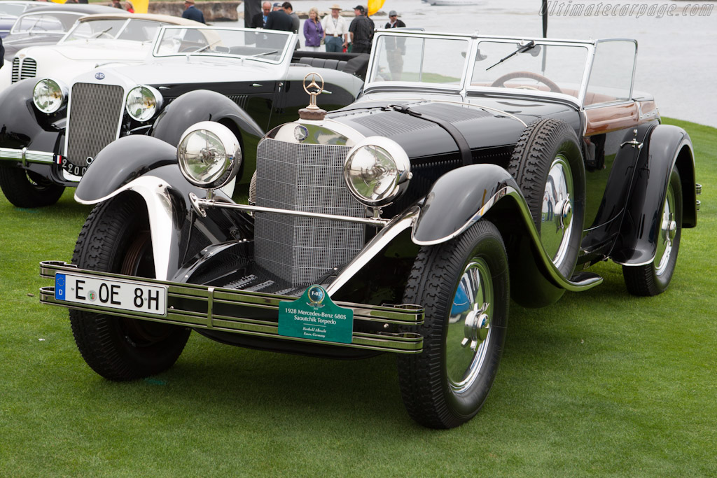 Mercedes-Benz 680 S Saoutchik Torpedo - Chassis: 35964   - 2012 Pebble Beach Concours d'Elegance