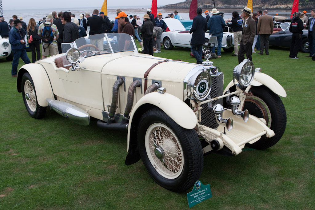 Mercedes-Benz SS Barker Roadster - Chassis: 35956   - 2012 Pebble Beach Concours d'Elegance