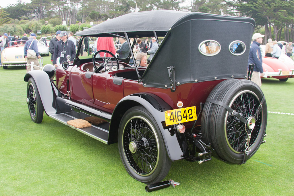 Mercer 22-70 Sporting Touring Car    - 2012 Pebble Beach Concours d'Elegance