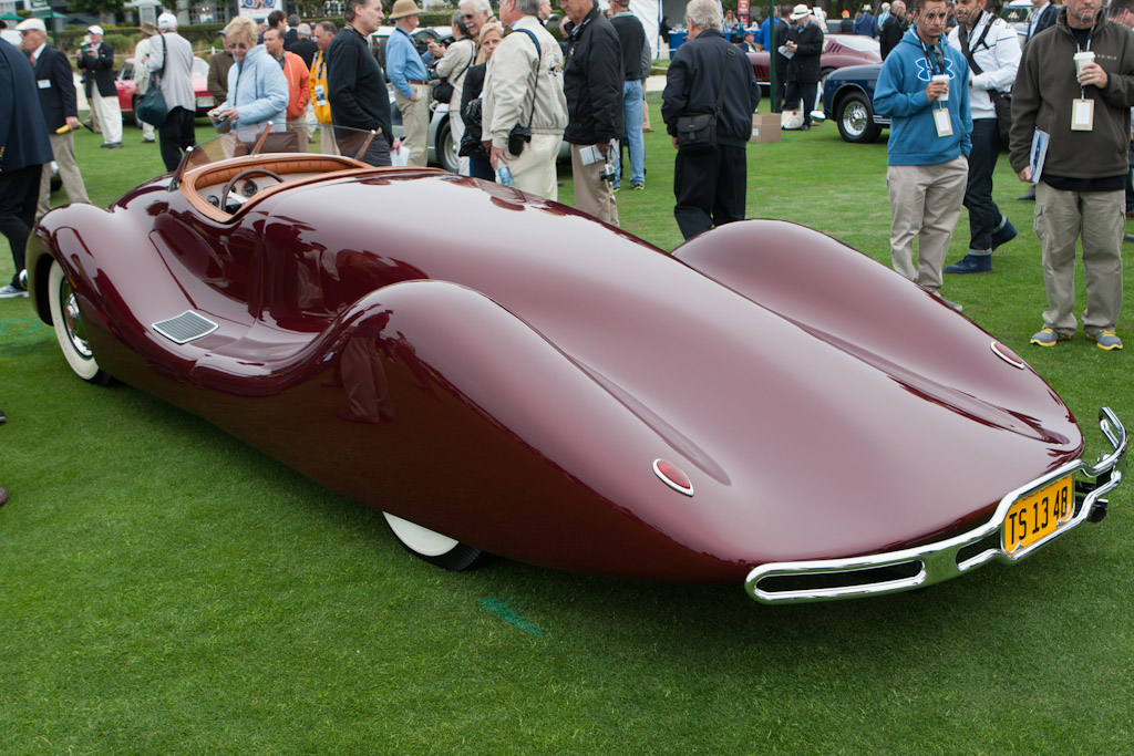 Norman Timbs Roadster    - 2012 Pebble Beach Concours d'Elegance