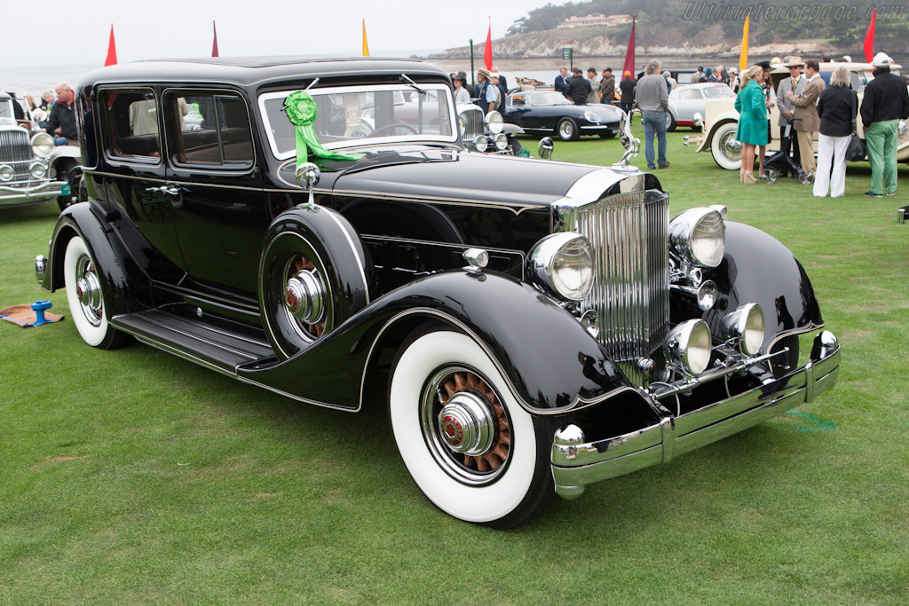 Packard 1107 Twelve Club Sedan    - 2012 Pebble Beach Concours d'Elegance