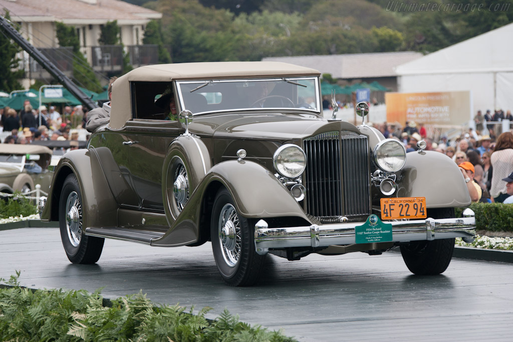 Packard 1107 Twelve Coupe Roadster    - 2012 Pebble Beach Concours d'Elegance