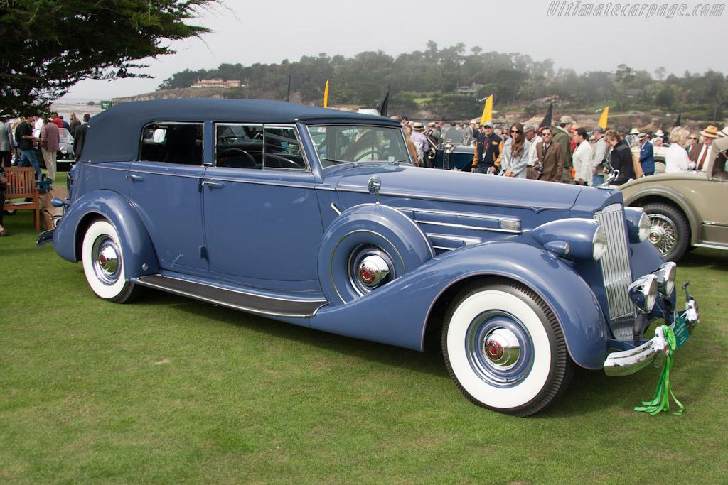 Packard 1508 Twelve Convertible Sedan    - 2012 Pebble Beach Concours d'Elegance
