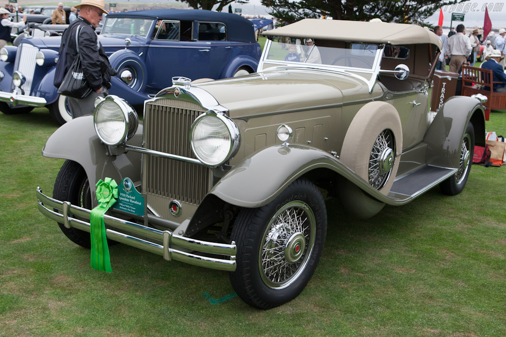 Packard 734 Speedster Runabout    - 2012 Pebble Beach Concours d'Elegance