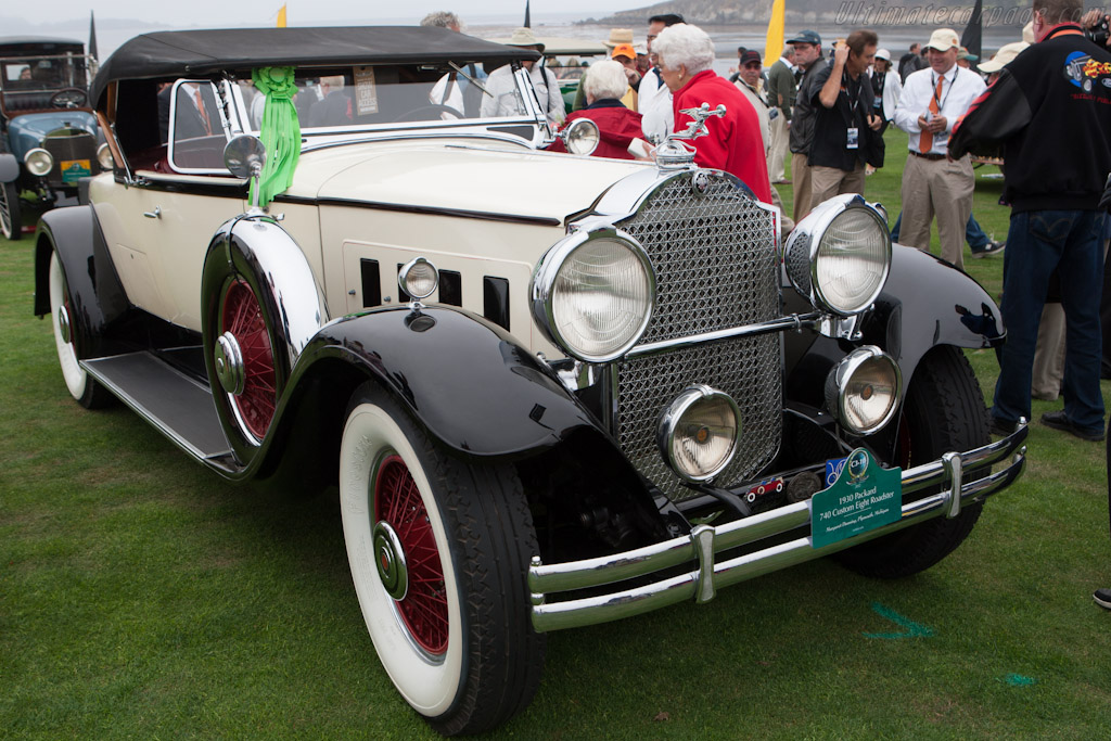 Packard 740 Custom Eight Roadster    - 2012 Pebble Beach Concours d'Elegance