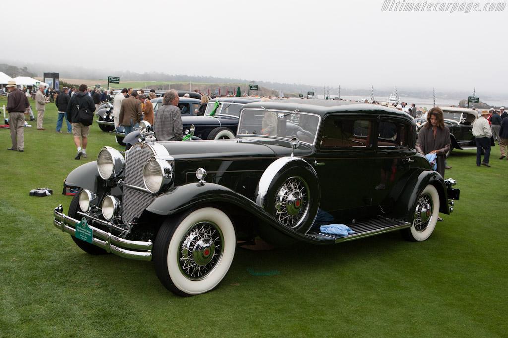 Packard 845 Deluxe Eight Dietrich Sport Sedan    - 2012 Pebble Beach Concours d'Elegance