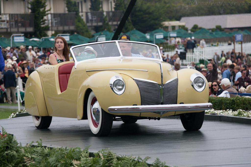 Paul Planette Coachcraft Mercury Roadster    - 2012 Pebble Beach Concours d'Elegance