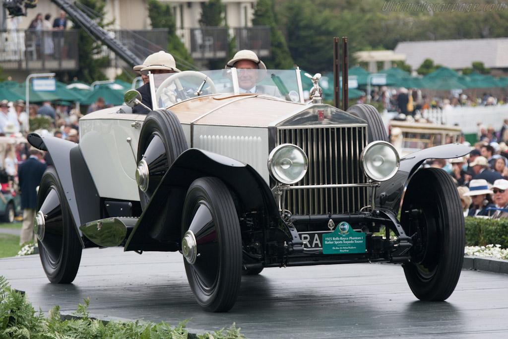 Rolls-Royce Phantom I Barker Sports Torpedo    - 2012 Pebble Beach Concours d'Elegance