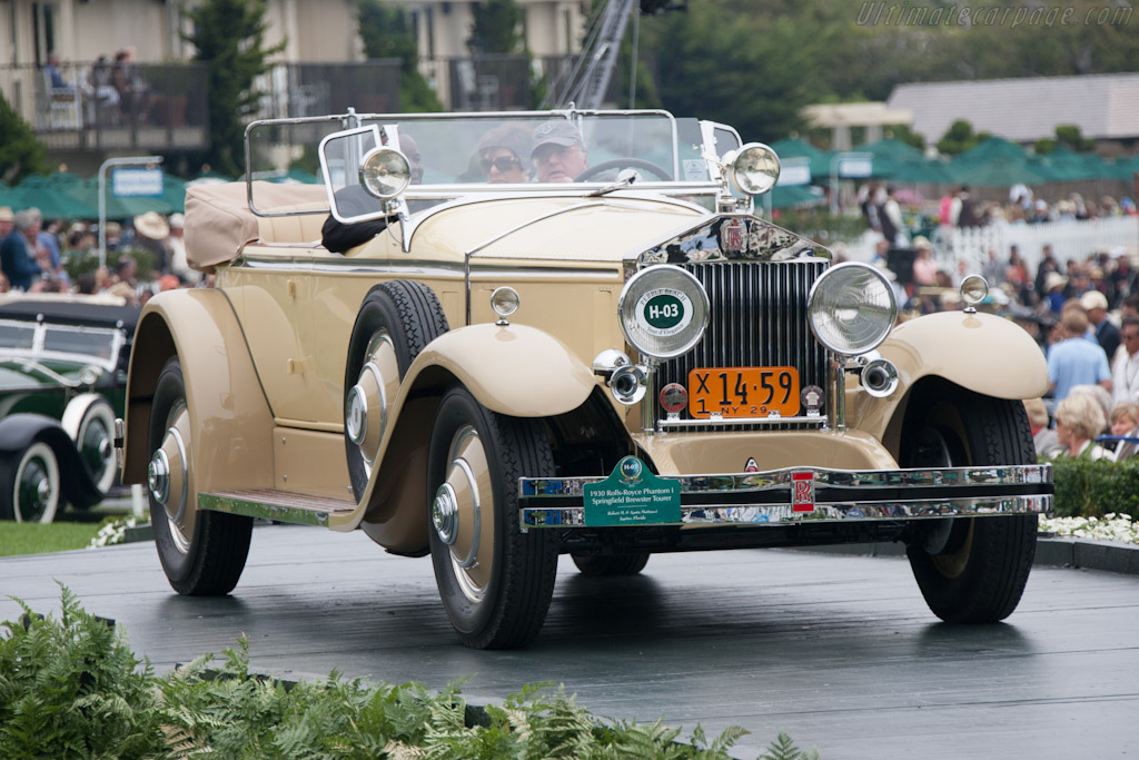 Rolls-Royce Phantom I Brewster Roadster    - 2012 Pebble Beach Concours d'Elegance