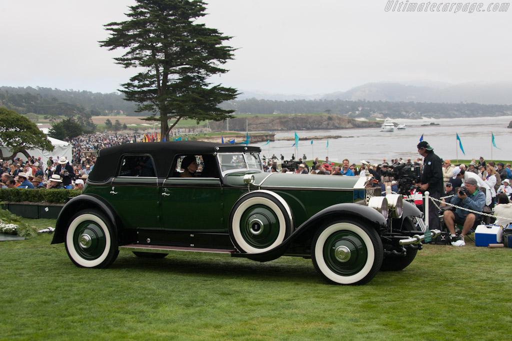 Rolls-Royce Phantom II Hibbard & Darrin Transformable    - 2012 Pebble Beach Concours d'Elegance