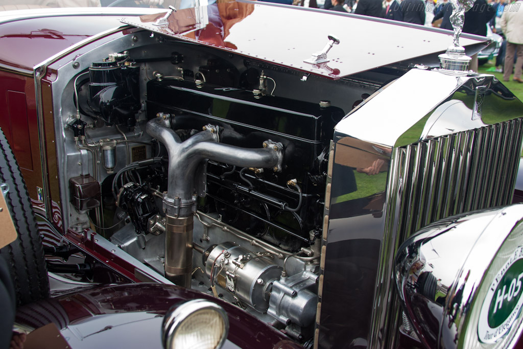 Rolls-Royce Phantom II Hibbard & Darrin Transformable    - 2012 Pebble Beach Concours d'Elegance