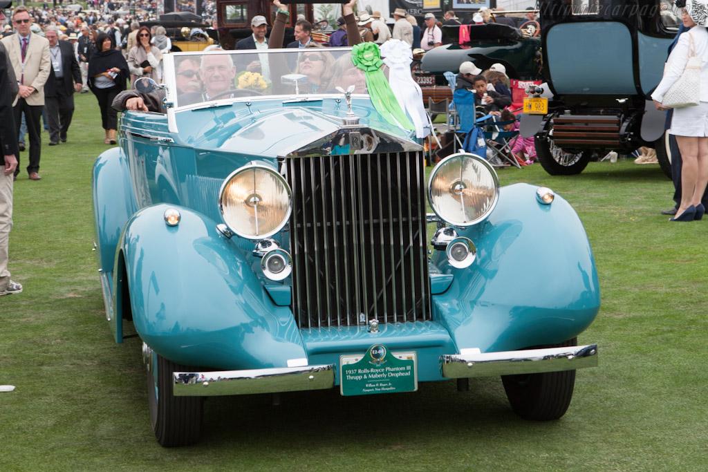 Rolls-Royce Phantom III Thrupp & Maberly DHC    - 2012 Pebble Beach Concours d'Elegance