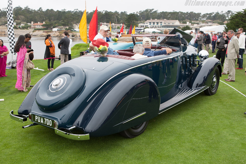 Rolls-Royce Phantom III Thrupp & Maberly Tourer    - 2012 Pebble Beach Concours d'Elegance