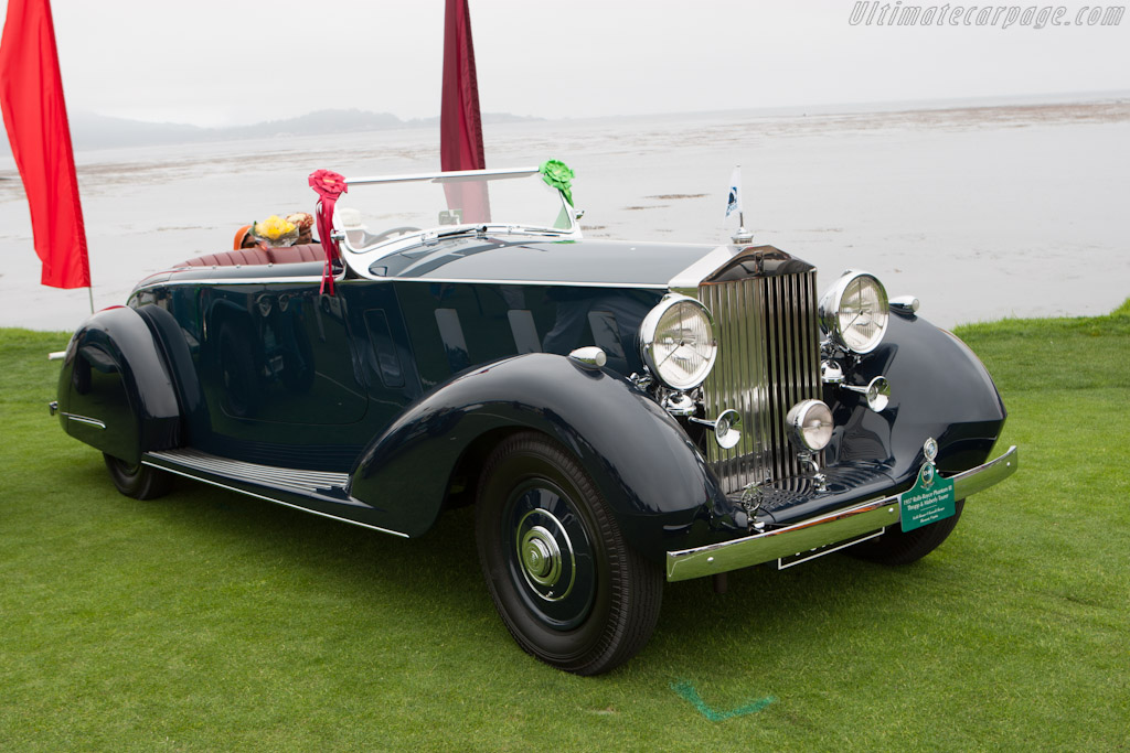 Rolls-Royce Phantom III Thrupp & Maberly Tourer    - 2012 Pebble Beach Concours d'Elegance