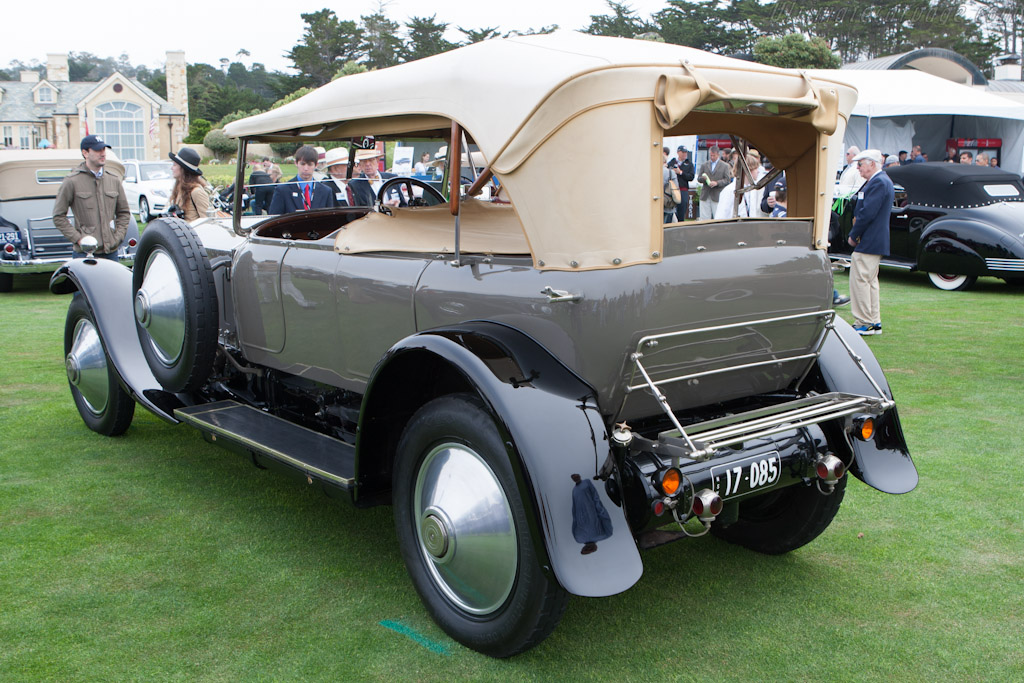 Rolls-Royce Silver Ghost Barker Tourer    - 2012 Pebble Beach Concours d'Elegance