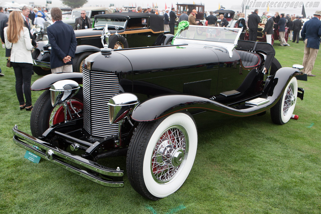 duPont Model G Merrimac Speedster    - 2012 Pebble Beach Concours d'Elegance