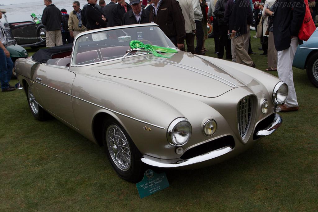 Alfa Romeo 1900 CSS Ghia Aigle Cabriolet - Chassis: AR1900C 01959 - Entrant: Kim & Stephen Bruno - 2013 Pebble Beach Concours d'Elegance