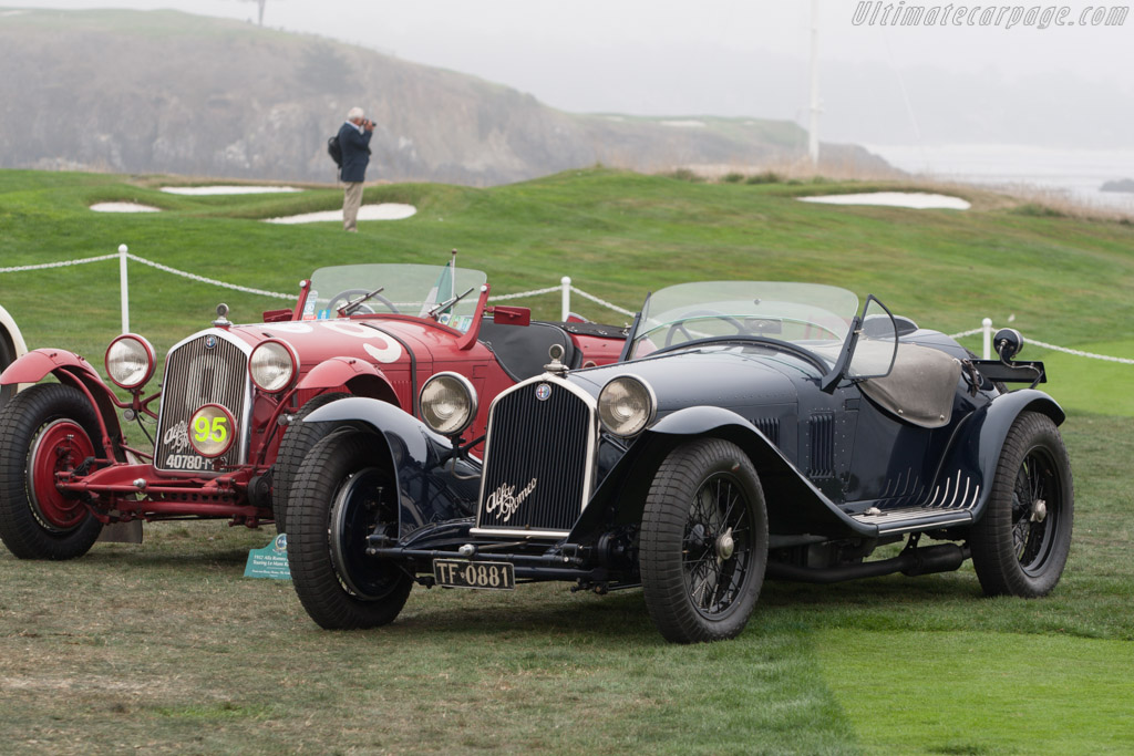 Alfa Romeo 8C 2300 Touring Spider - Chassis: 2311234 - Entrant: Matt Spitzley  - 2013 Pebble Beach Concours d'Elegance