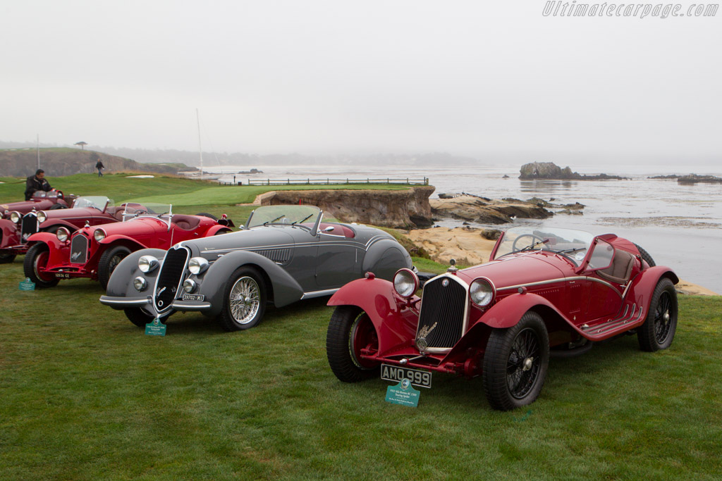 Alfa Romeo 8C 2300 Touring Spider  - Entrant: The Hon. Sir Michael Kadoorie  - 2013 Pebble Beach Concours d'Elegance
