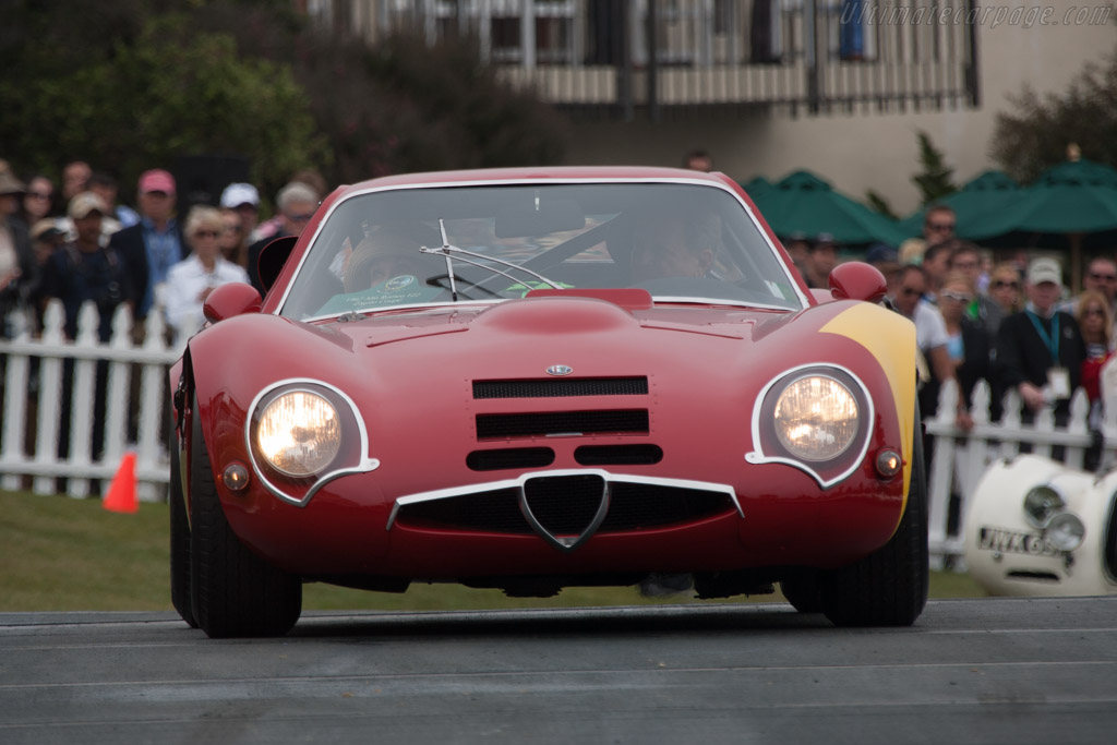 Alfa Romeo TZ2 - Chassis: AR750117 - Entrant: David & Ginny Sydorick  - 2013 Pebble Beach Concours d'Elegance