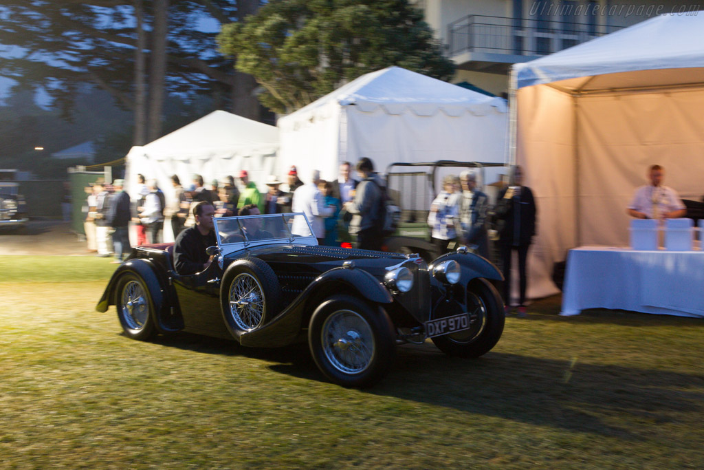 Arriving at the crack of dawn    - 2013 Pebble Beach Concours d'Elegance