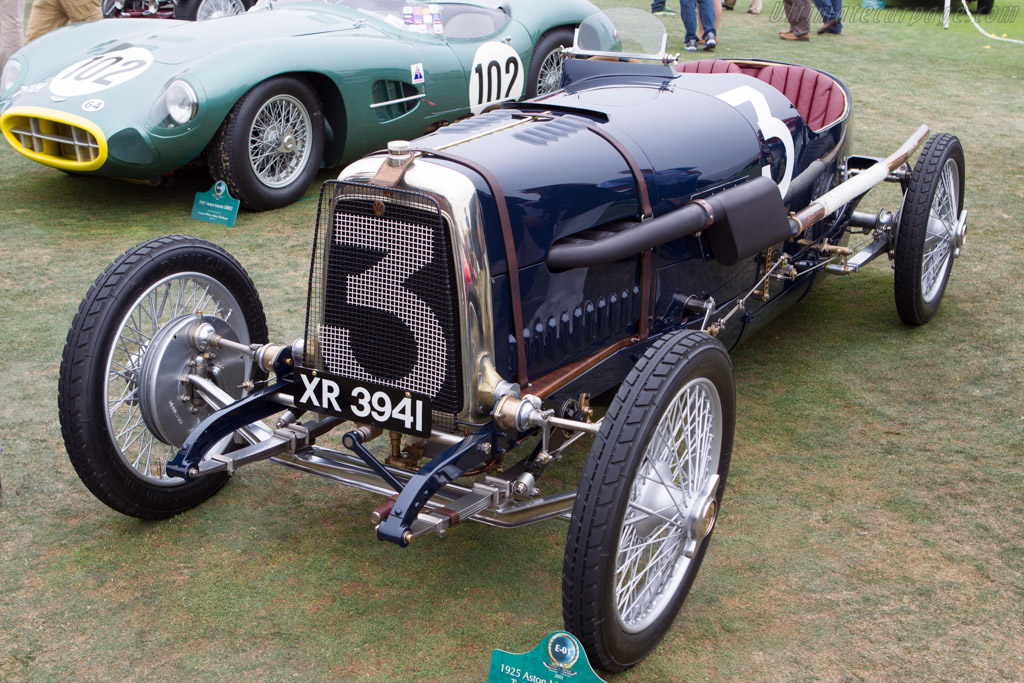 Aston Martin 16 Valve Twin Cam Grand Prix - Chassis: 1934 - Entrant: Mitch & Wendy Gross  - 2013 Pebble Beach Concours d'Elegance